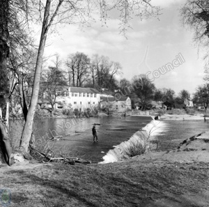 Fishing, River Wharfe, Boston Spa